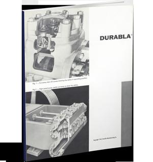 1964 Durabla Brochure | Triangle Pump Components