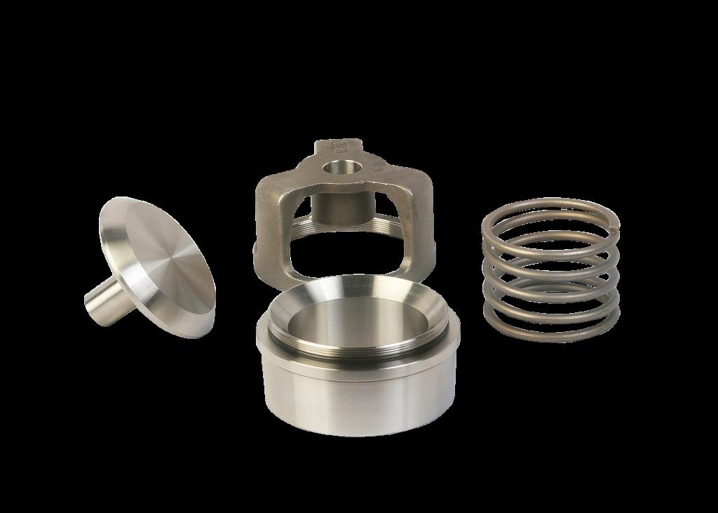 WG Sphera® Series valve components