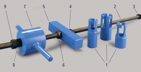 Valve Puller Components