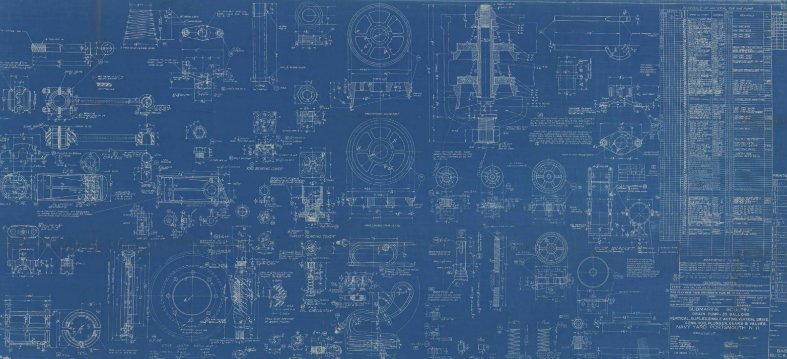 blueprint-USS Sculpin drain pump