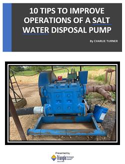 10 Tips for a Salt Water Disposal Pump